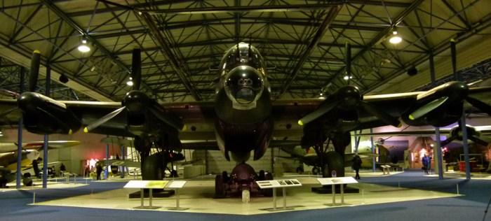 Avro Lancaster, bomber, S-Sugar, visit RAF Hendon