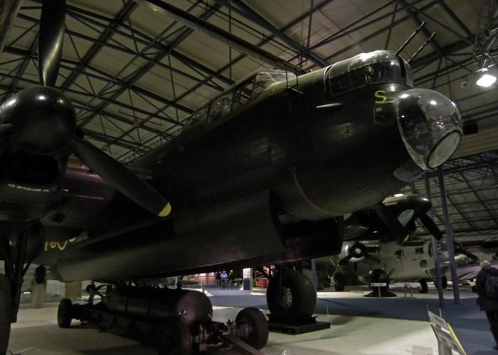 Lancaster, bomber, RAF, Hendon, S-Sugar