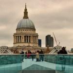 Christopher Wren, St Pauls, view, Millennium Bridge