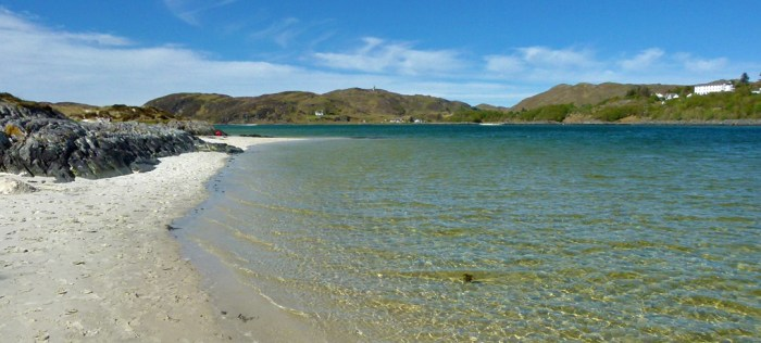 Silver Sands of Morar, Road to the Isles, visit Britain