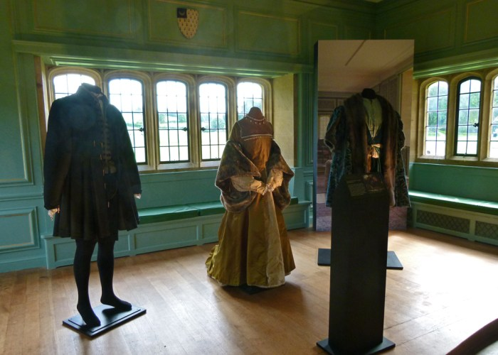 Tudoer costumes, Wolf Hall, BBC TV, Barrington Court