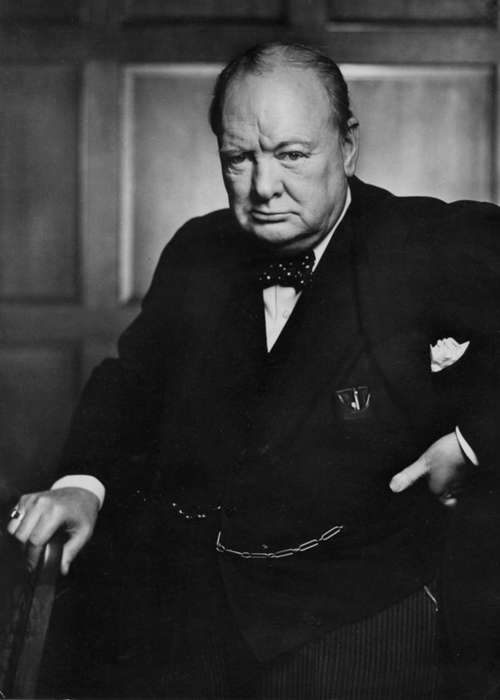 Churchill, Prime Minister. about Britain