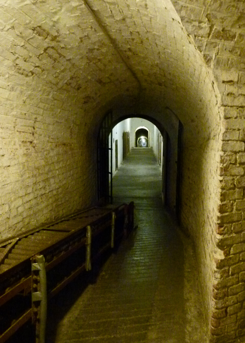 Fort Nelson, underground, artillery museum, Royal Armouries