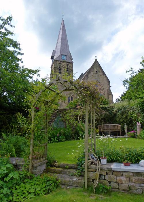 All Saints, Burton in Lonsdale, open gardens