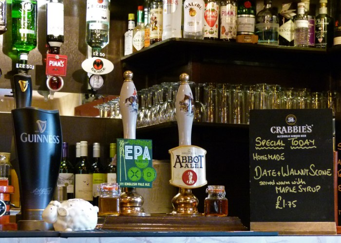 Aidensfield Arms, Abbot Ale, North Yorkshire