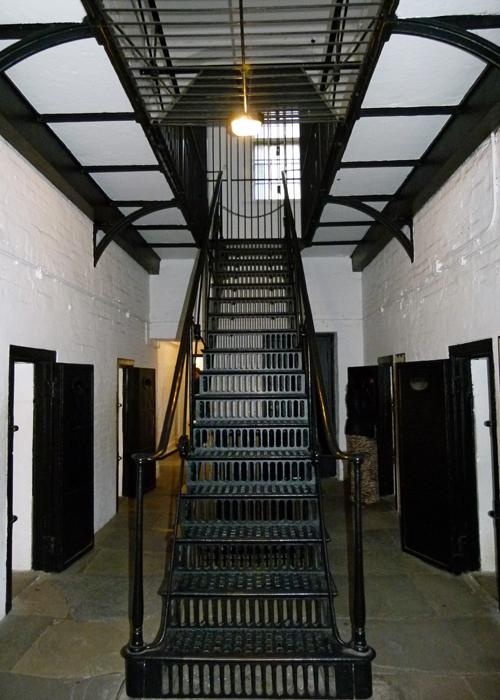 Victorian, military prison, Edinburgh Castle