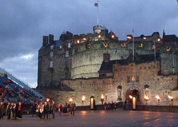 Edinburgh Castle, Tattoo, military, events in Edinburgh