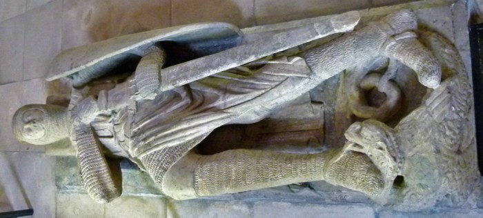 Effigy, Gilbert Marshal, 4th Earl of Pembroke, Temple Church