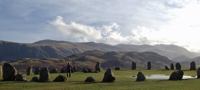 Castlerigg , Stone Circle, Keswick, Cumbria