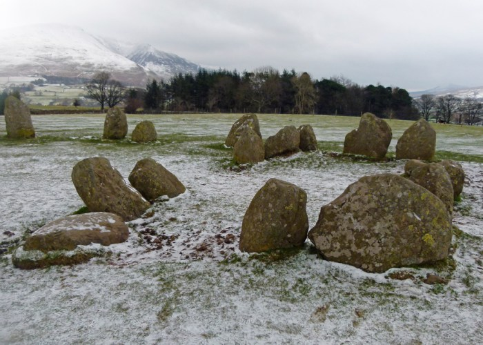 Castlerigg, sanctuary, prehistoric remains, Cumbria