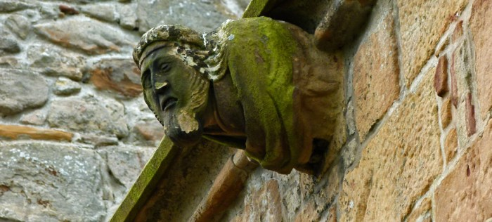 Dornoch Cathedral, gargoyles