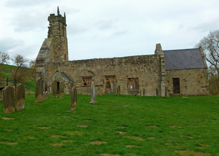 St Martin's, church, Wharram Percy