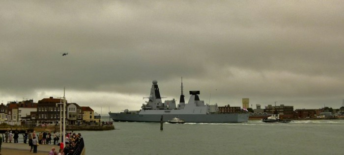 Royal Navy, ships, Portsmouth Harbour