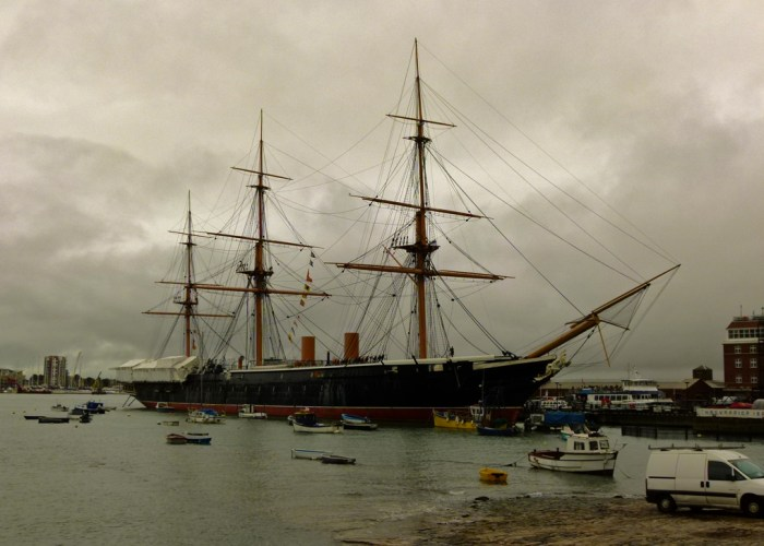 HMS Warrior, iron clad, Dockyard, Portsmouth