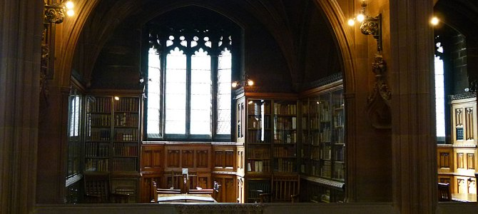 Manchester's John Rylands Library