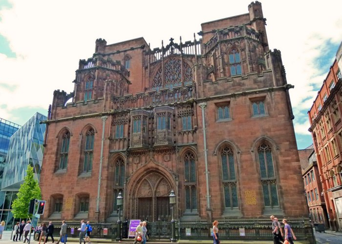John Rylands, Library, Deansgate, Manchester