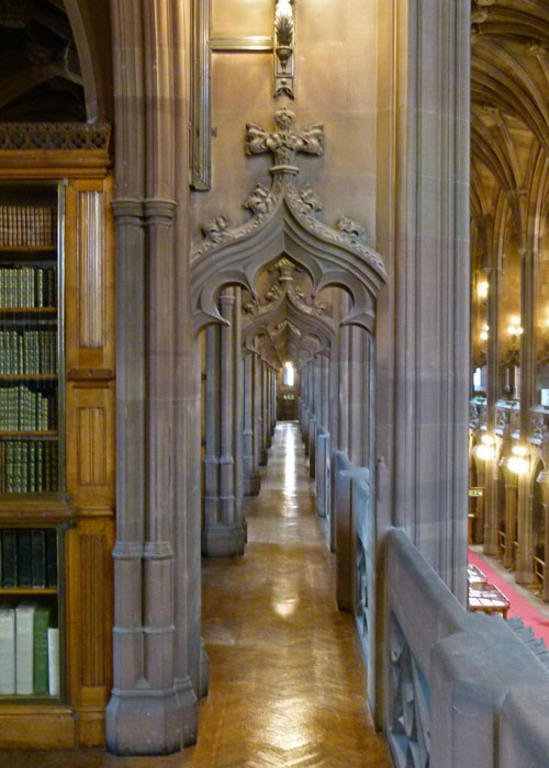 John Rylands Library, Manchester, the gallery