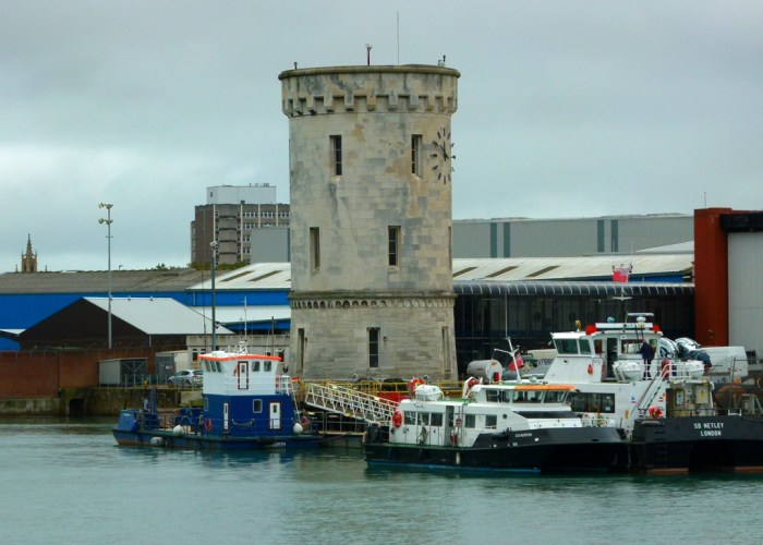 Portsmouth Harbour, tower
