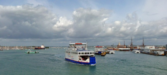 A tour of Portsmouth Harbour