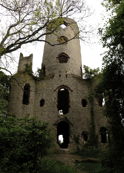 Racton Folly, West Sussex, haunted places