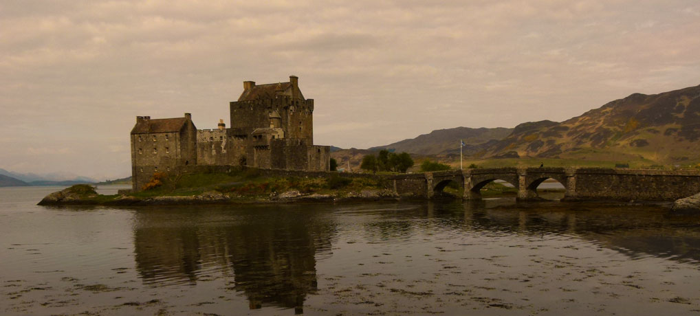 Is Eilean Donan Castle a fake?