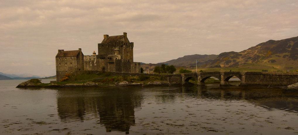 Is Eilean Donan Castle a fake?