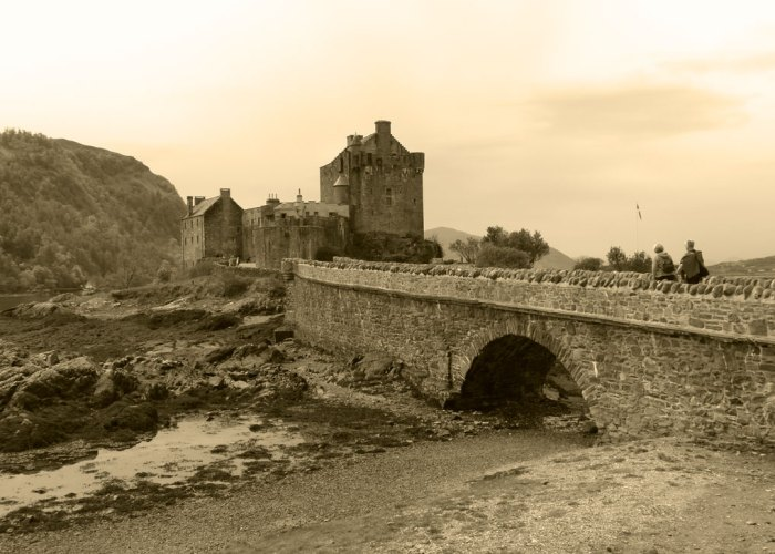 Eilean Donan Castle , Highland tour, visit Scotland. MacRae Clan