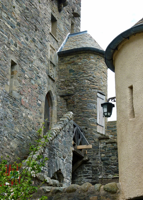 Eilean Donan, staircase leading to the Great Hall