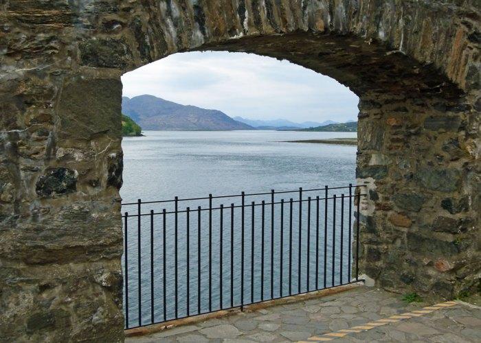 Eilean Donan, Loch Alsh, sea gate