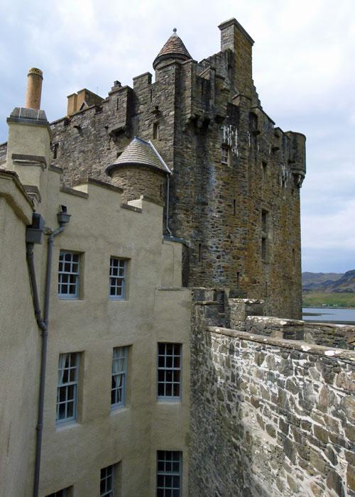 Eilean Donan, battlements