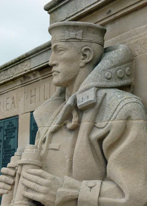 Portsmouth's Naval Memorial, visit Hampshire