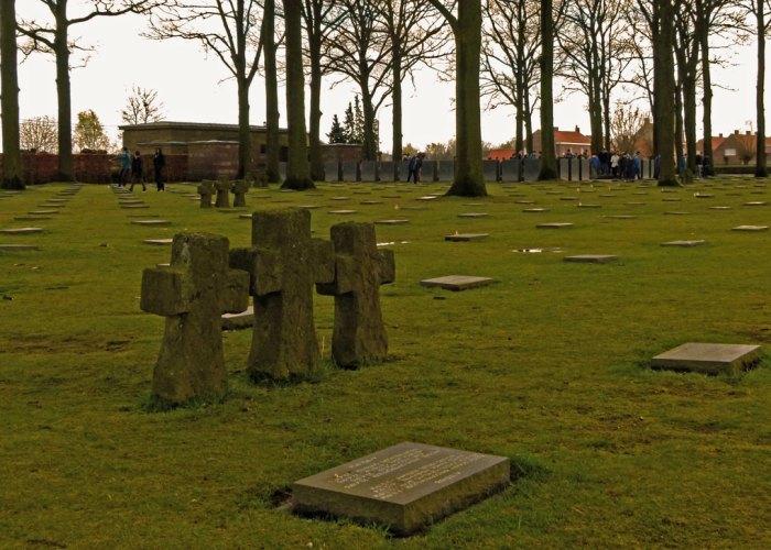 Langemarck , German cemetery, Ypres