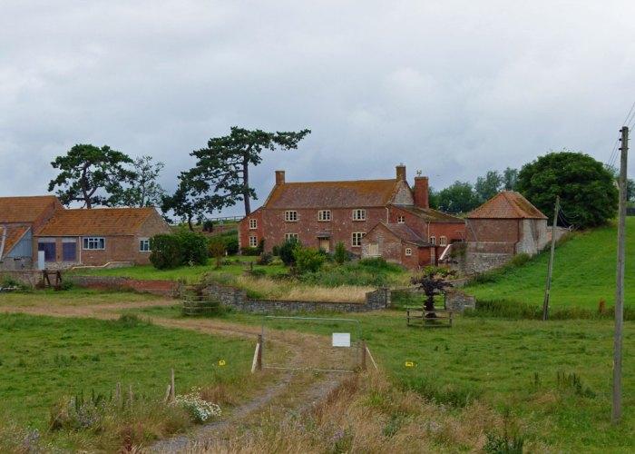 Athelney Farm, Athelney, Alfred's Monument