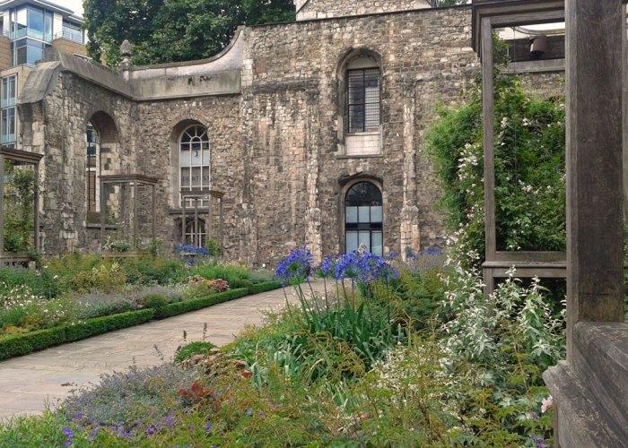 Garden, Christ Church Greyfriars, London