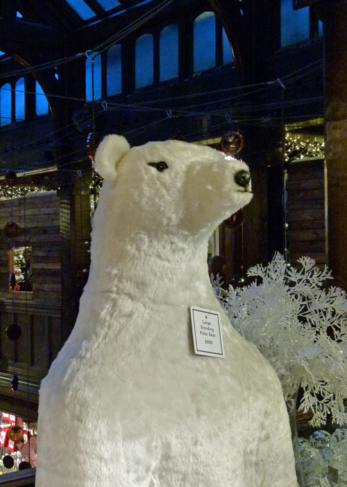 Liberty London, polar bear