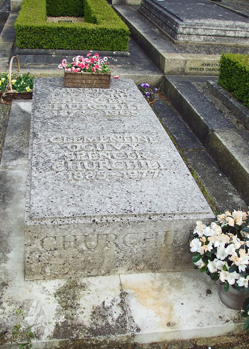 Churchill' grave, Bladon