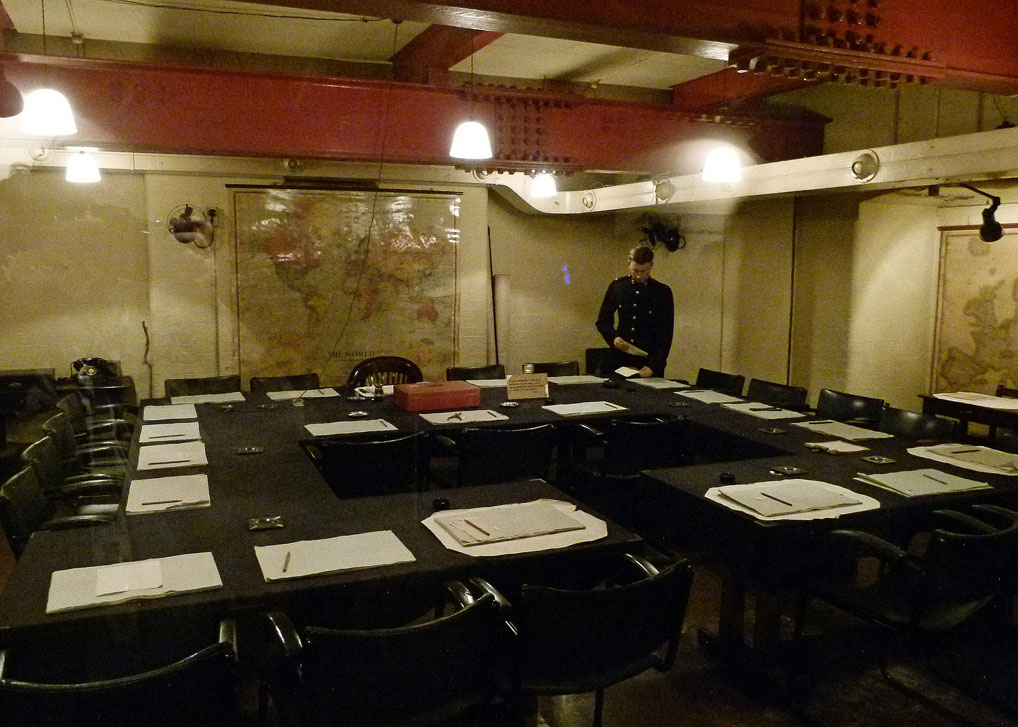 The secret cabinet war rooms a bit about britain - Churchill war cabinet rooms ...