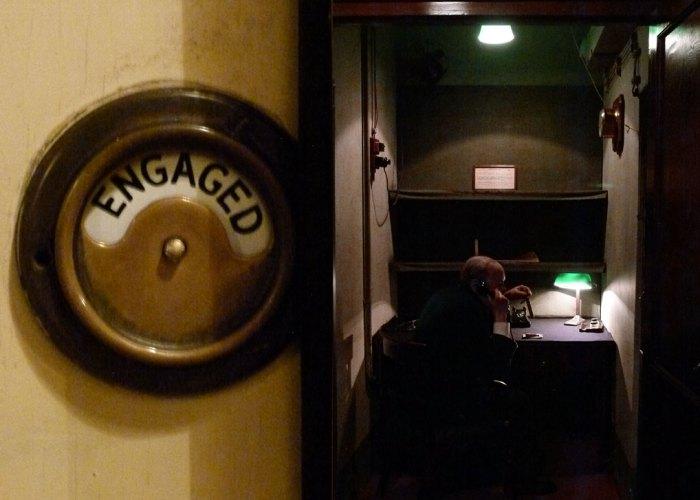 Cabinet War Rooms, transatlantic phone room