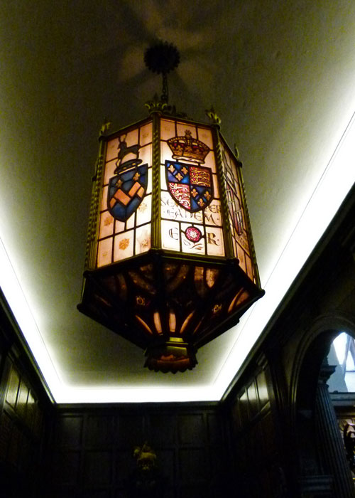 Golden Hind, lantern, Middle Temple