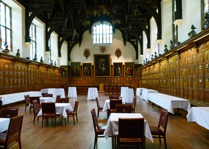 Middle Temple Hall, Double hammer beam roof, London
