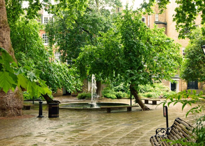Fountain Court, Mulberry Trees, Middle Temple