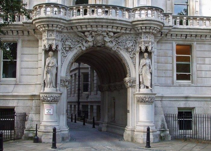 Temple Gardens Buildings, Middle Temple Lane, London