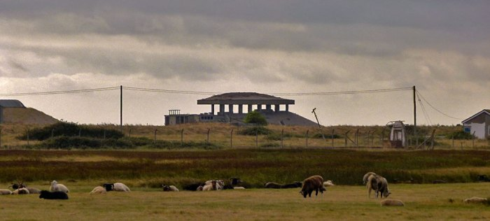 Pagoda, Orford Ness, AWRE, Cold War