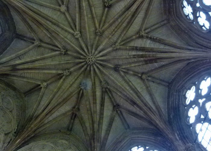 Southwell Minster, Chapter House ceiling