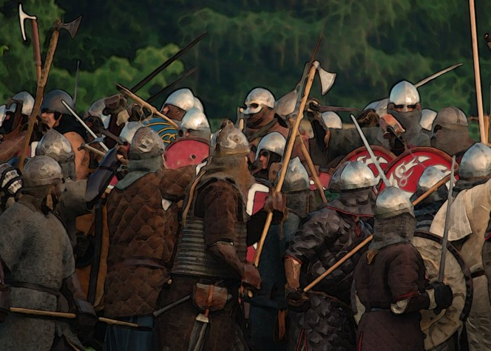 Early medieval battle, anniversaries, 2018
