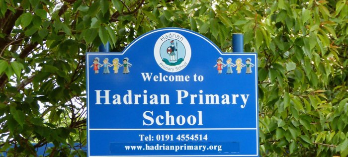 Hadrian Primary School, Arbeia, Roman fort
