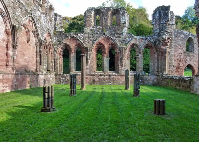 Chapter house, Furness Abbey