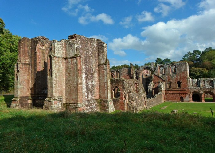 West tower, Furness Abbey
