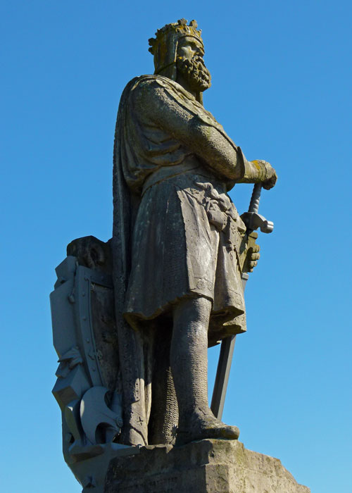 Robert the Bruce, Bannockburn, Stirling Castle