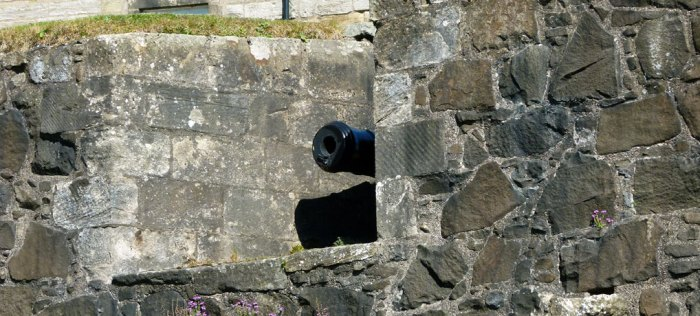 Stirling Castle, cannon
